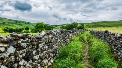 orkshire Dales Malham Cove Nature Dry Stone Wall