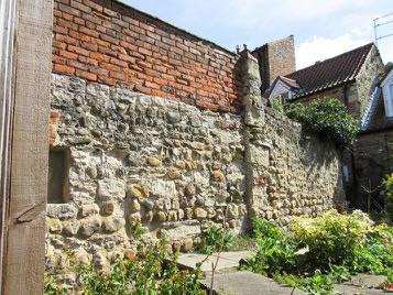 Sixteenth century stonework Ripon