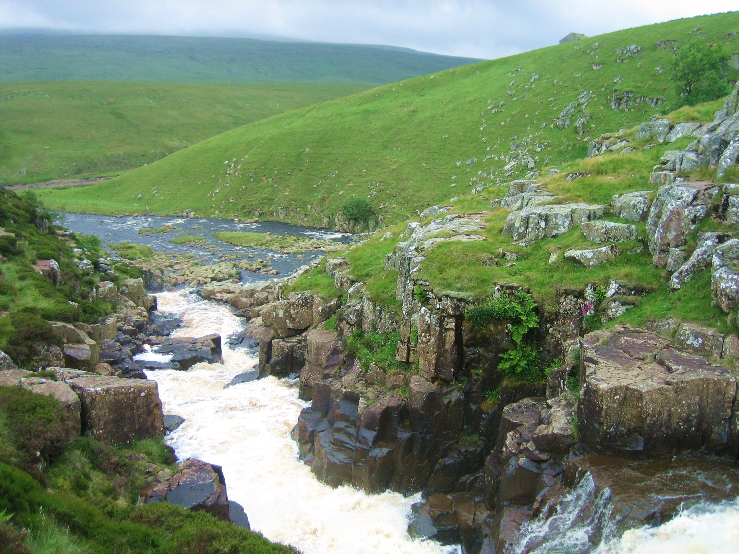 Cauldron Snout waterfall, Upper Teesdale
