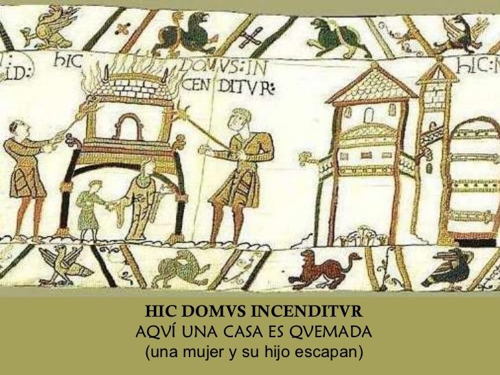el tapiz de bayeux traducido