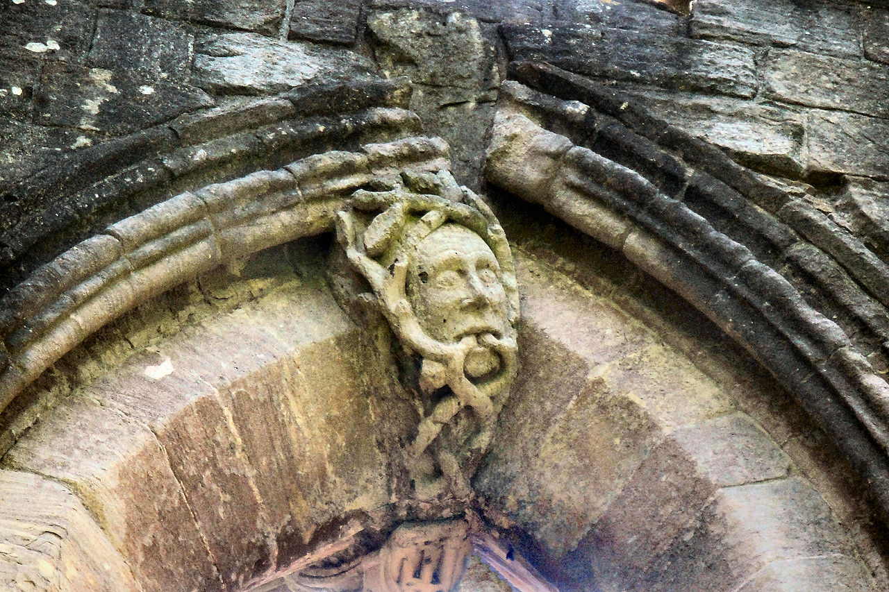The Green Man Fountains Abbey