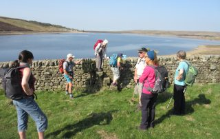 Setting off from Grimwith