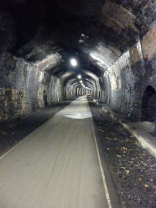 Cressbrook Tunnel on the Monsal Trail