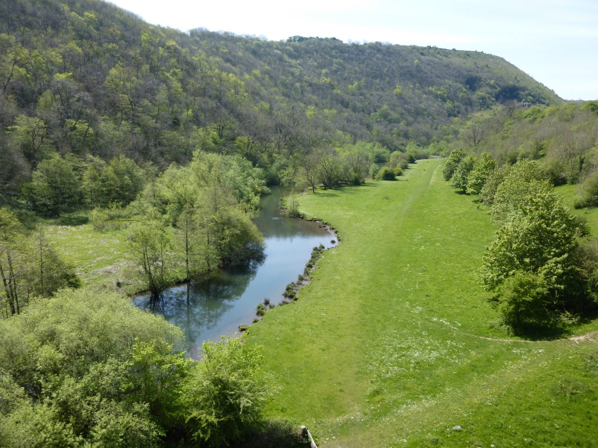 View of Monsal Dale from Monsal Head Viaduct