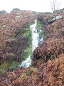Mossy Moor waterfall © UWFS
