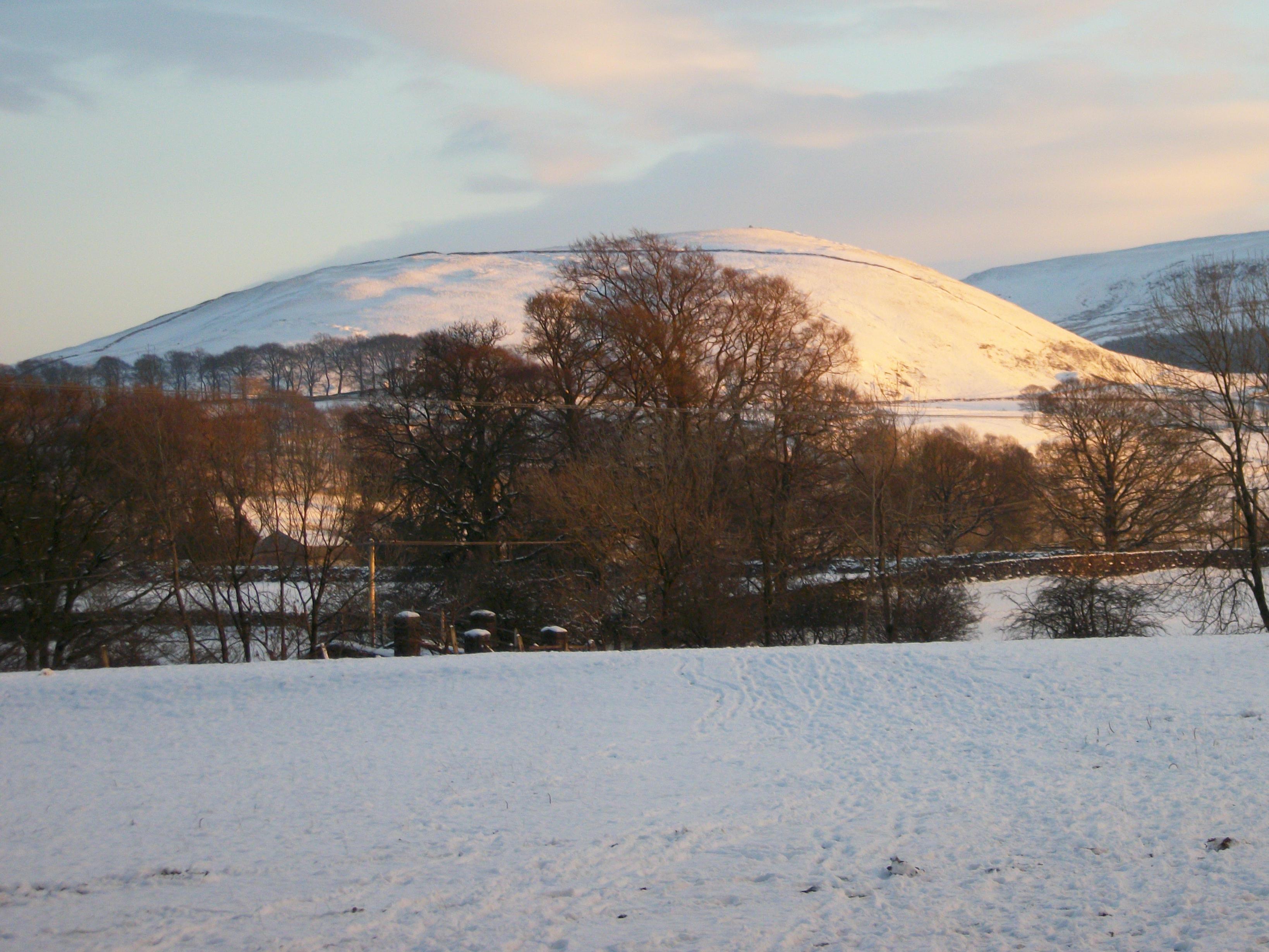 Elbolton in Snow