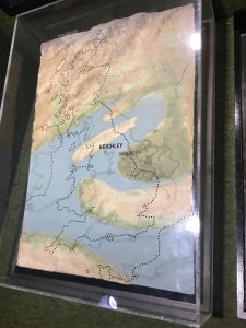 A 3D model of land and sea 300 million years ago