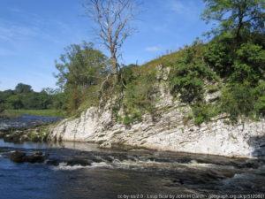 River Wharfe at Loup Scar