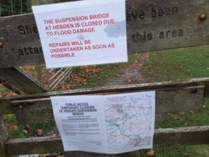 Hebden Swing Bridge Closure Notice