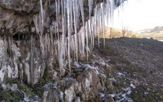 Icicles Kilnsey Crag