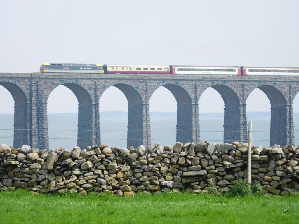 Train at Ribblehead