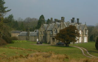 Knowlemere Manor, in the Hodder Valley, home of Sir Robert Peel's descendants