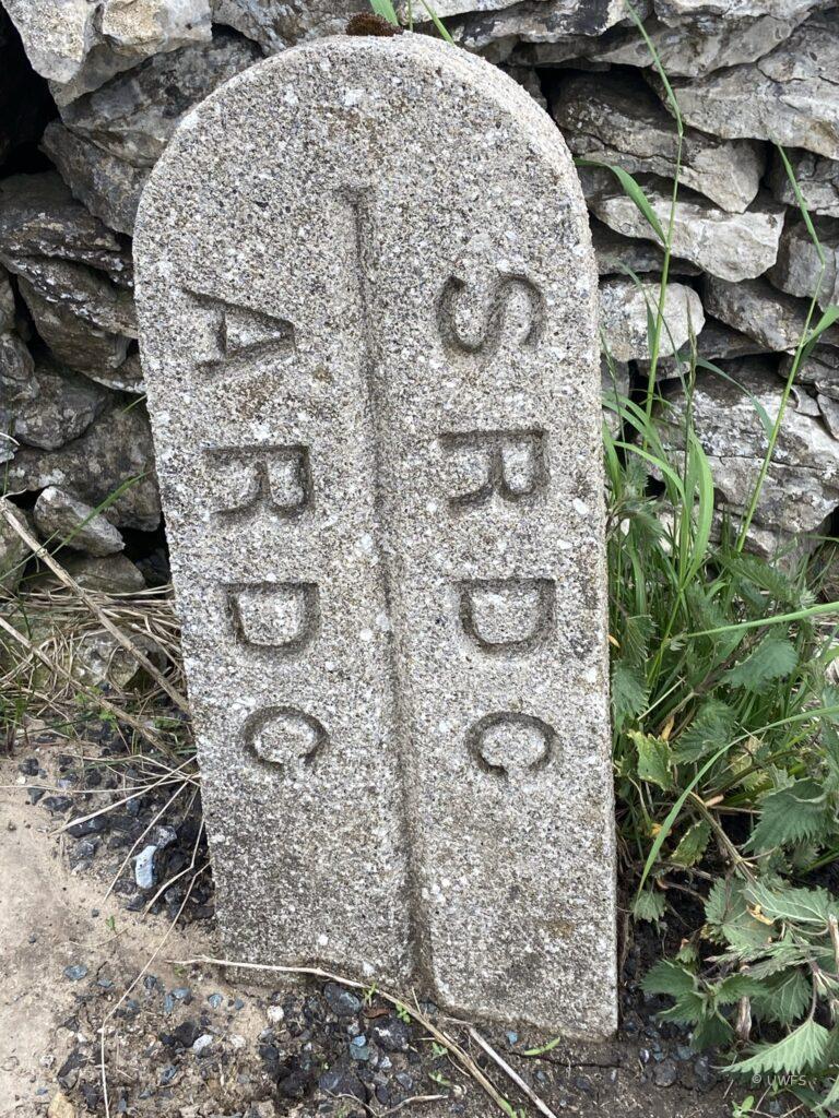 Boundary Stone at Kidstones