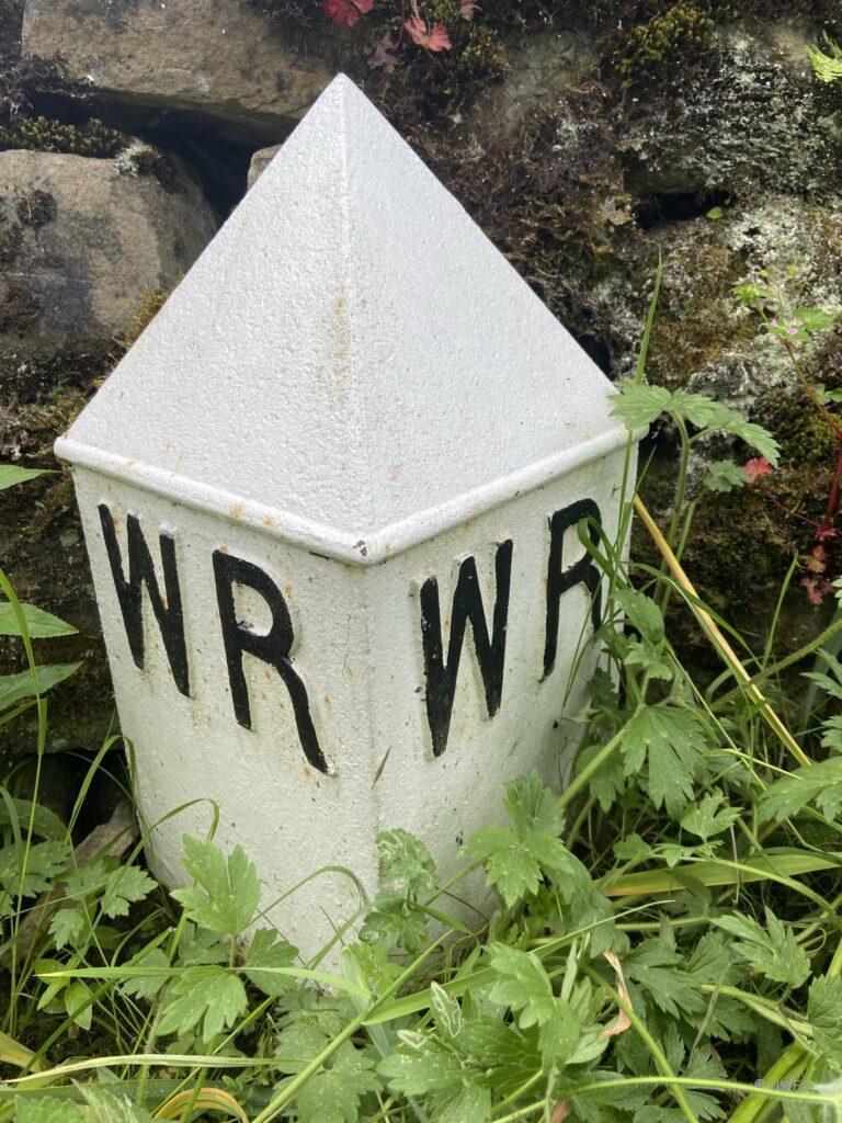 West Yorkshire Road Marker